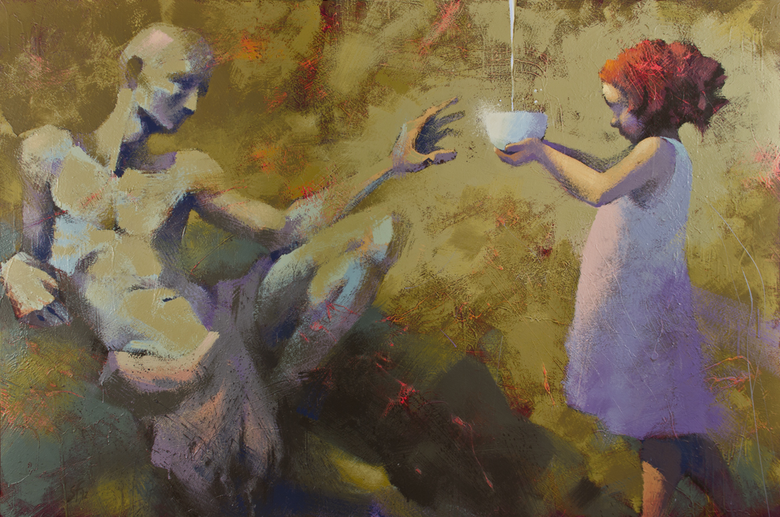 Image result for thirsty  painting