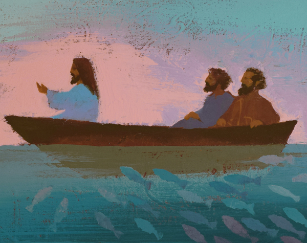Jesus teaching the crowds-Scott Freeman